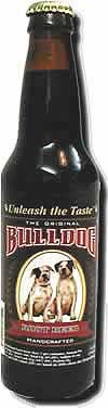 Bulldog Root Beer Bottle
